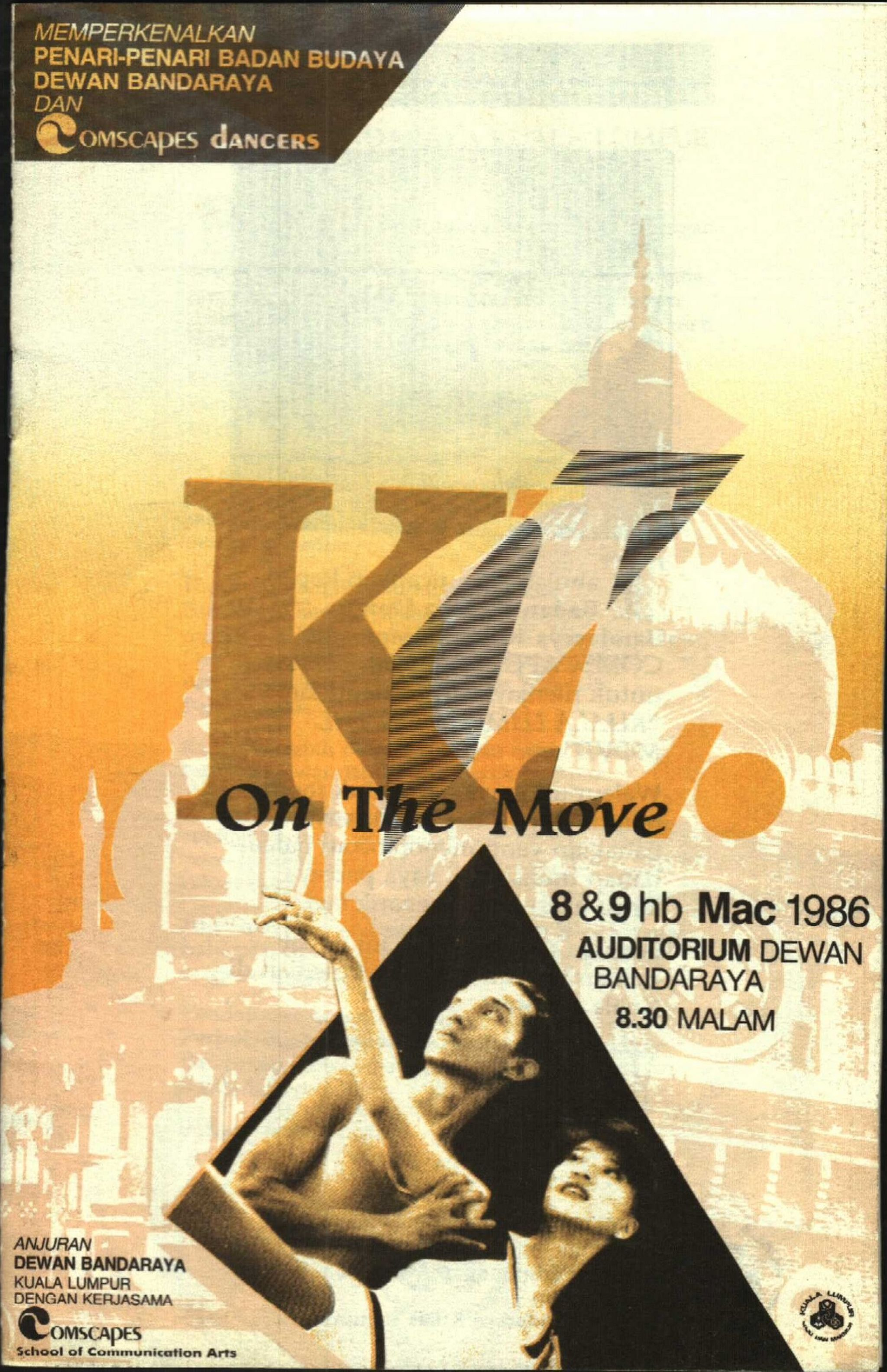 1986 KL On The Move Cover